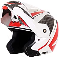 Vega Crux Dx Checks White Red Helmet, M