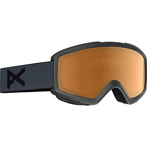 Anon Helix 2.0 Snow Goggles Stealth with Amber Lens