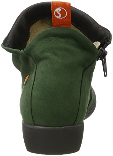 Farah Botas Mujer Softinos 538 Nubuck para Verde Dkgreen Zqd4d