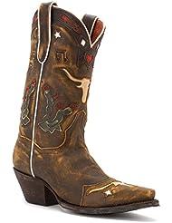 Dan Post Womens Cowboy Dreams Cowgirl Boot Snip Toe