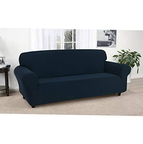 Amazon.com: Hebel Solid Jersey Sofa Cover | Model SF - 405 ...