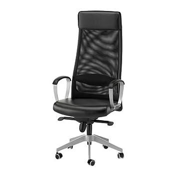 Ikea Uk Office Intended Ikea Markus Swivel Chair Black Black Amazoncouk Kitchen u0026 Home