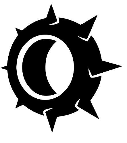 Overwatch Junkrat Rip Tire Sticker Decal (15''x12'', Black) -  HotSticker