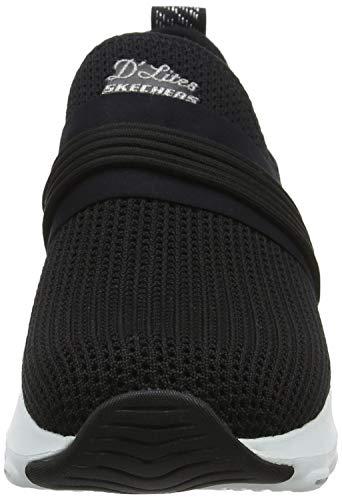 precious Skechers Noir Femme semi black Ultra silver Baskets Bksl D'lite twrtpqO