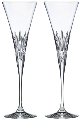 Lenox Firelight Crystal 2-piece Toasting Flute Set