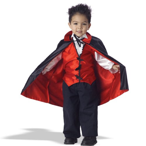 [Vampire Toddler Costume, Size: M(3-4)] (Vampire Dress For Kids)