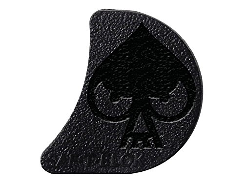 Ace of Spade skull SAF-T-BLOK Right Handed Trigger Safety Block POST 98 for Glock 17 19 20 21 22 23 24 29 By NDZ Performance