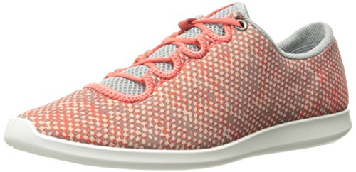 Women US Sense Coral EU Sneaker Concrete Bush Sport ECCO 8 8 39 M Coral Women Fashion 5 Bush qCdxwT