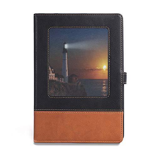 Bound Notebook,Lighthouse Decor,A5(6.1