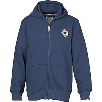 9dcef0c830c7 Kids Converse Fleece Zip Up Hoody Converse Navy Childs Junior (3 Age 3  Height 98
