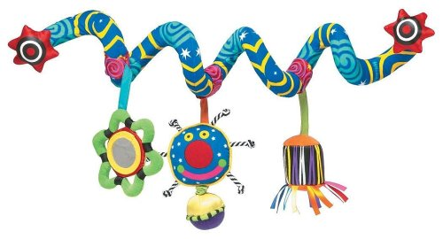 Manhattan Toy Whoozit Activity Spiral Stroller and Travel Activity Toy (Activity Spiral)