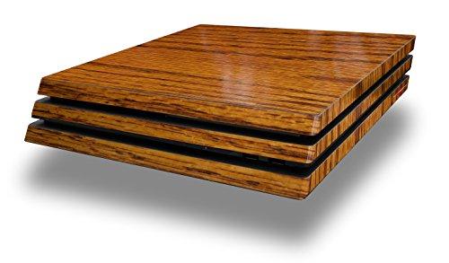 WraptorSkinz PS4 Pro Skin Wood Grain - Oak 01 - Decal Style Skin Wrap fits Sony PlayStation 4 Pro Console (Ps4 Wood Grain Skins)