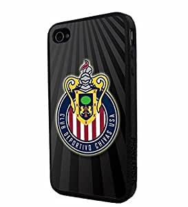 diy zhengSoccer MLS CLUB DEPORTIVO CHIVAS USA FC LOGO SOCCER FOOTBALL, Cool iPhone 6 Plus Case 5.5 Inch / Smartphone iphone Case Cover Collector iphone TPU Rubber Case Black