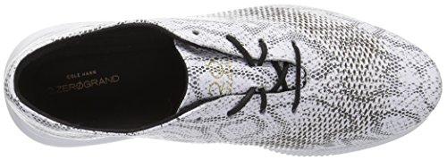 Snake White Print Women's Cole Haan Laser 2 Black Zerogrand Wing Oxford zpHwqaf