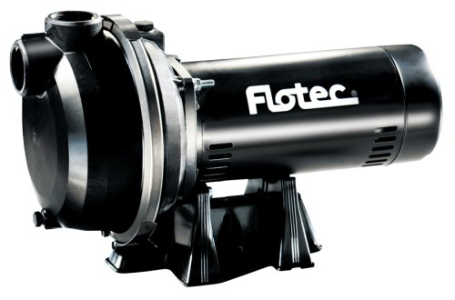 Flotec FP5172 1-1/2 HP Self-Priming High Capacity Sprinkler Pump - Lawn Sprinkler Pump