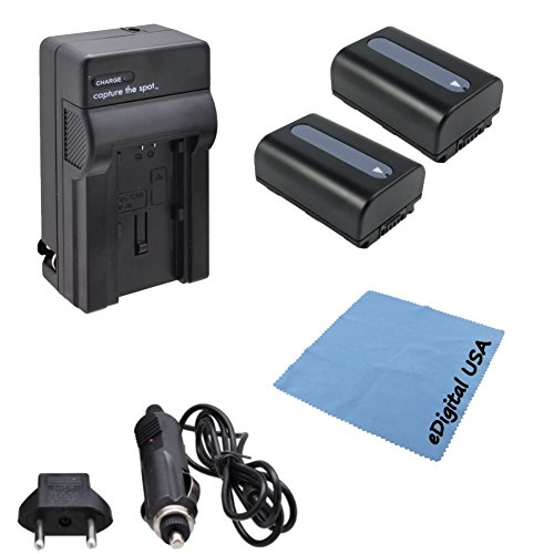 high-capacity-sony-np-fh50-battery-kit-includes-2-npfh50-replacement-batteries-with-rapid-charger-us