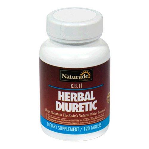 Naturade Herbal Diuretic (K.B.11) , 120 Count (Pack of 3)