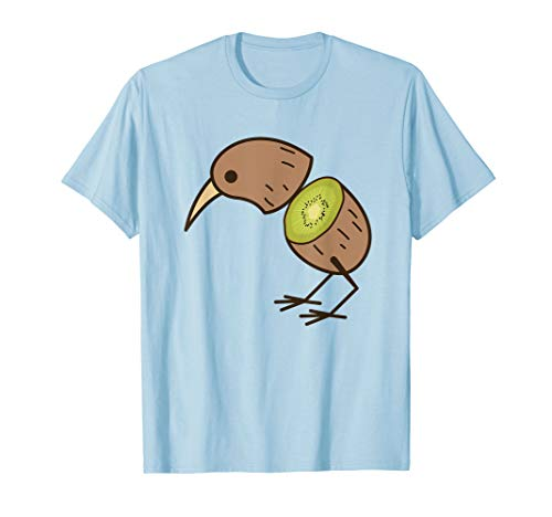 Kiwi Bird Shirt | Cute Fruitarian Fowls T-shirts Tee Gift -