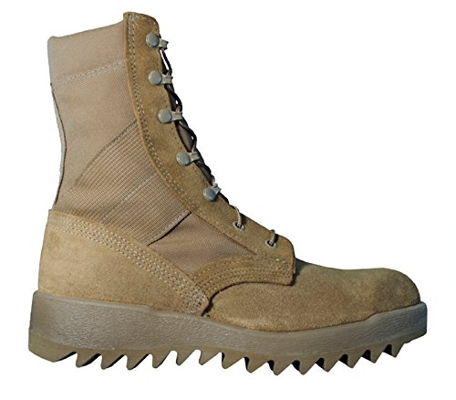 Mcrae Warm Weer Coyote Ripple Sole Combat Boot 8188 9.5w
