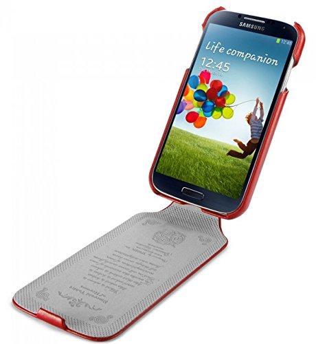 SGP Samsung Galaxy S4 Case Leather Flip Case [Argos] [Red...