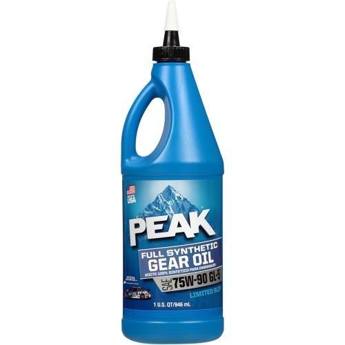 75W-90 Full Synthetic Gear Oil Quart () - PEAK P9GS776
