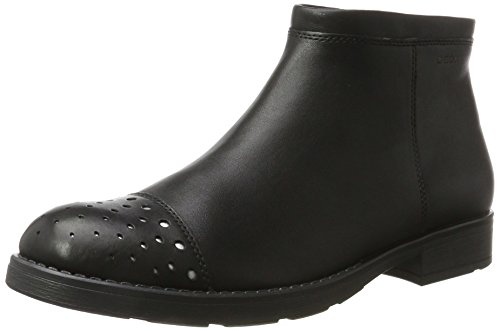 Geox Girls' Jr Sofia H Boots Black (Black)