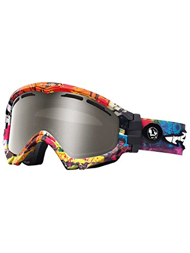 ARNETTE SERIES 3 SNOW GOGGLE AN5001 FOR SKIING AND SNOWBOARD (Show Flyer 2 w/ Mercury Chrome - Arnette Ski Goggles