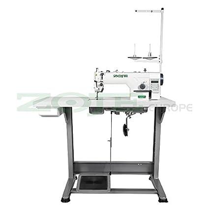 Zoje – Máquina de coser industrial automática, completamente montada sobre mesa