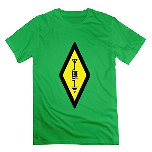 FZLB Men's International Symbol For Amateur Radio T-Shirt X-Large - Mouse Cardinals Wireless