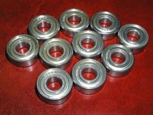 10 Fishing Reel Ceramic Bearing 3x10x4 Stainless Steel Shielded Miniature Ball Bearings VXB Brand