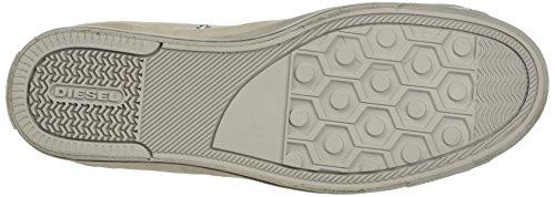 Sneaker Y01546 Beige Alto Birch Expo-zip Uomo Magnete T8018 A Diesel silver Collo Low-sneak