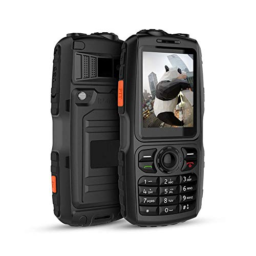Peedeu Rugged 3G Phone,Zello A18 Phone,IP67 Waterpoorf, PTT Walkie Talkie,Dual SIM,WCDMA GSM WiFi Android Mobile Phone(3800mAh) (Network Phones Dual)