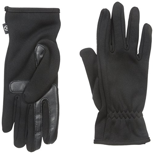 Isotoner-Mens-Smartouch-Active-Stretch-Glove-with-Gathered-Wrist-Unlined