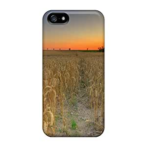 Case Cover Red Sun/ Fashionable Case For Iphone 5/5s