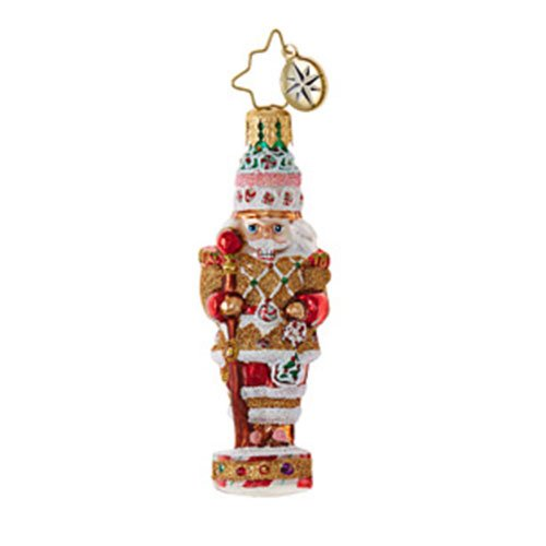 Christopher Radko Candy Cracker Little Gem Christmas (Radko Gem)