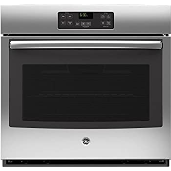 """GE JT1000SFSS 30"""" Stainless Steel Electric Single Wall Oven"""