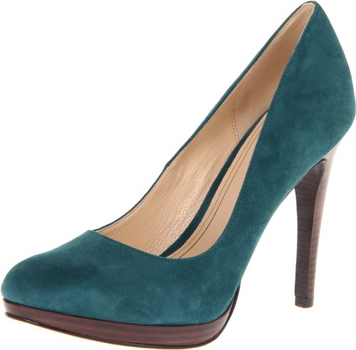 Cole Haan Womens Chelsea High Pump (Dark Teal, 10.5)