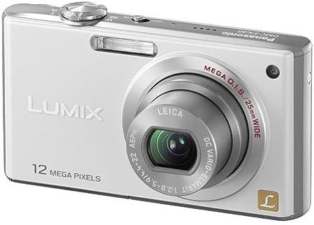 Panasonic Dmc Fx40eg W Digitalkamera 2 5 Zoll Kamera