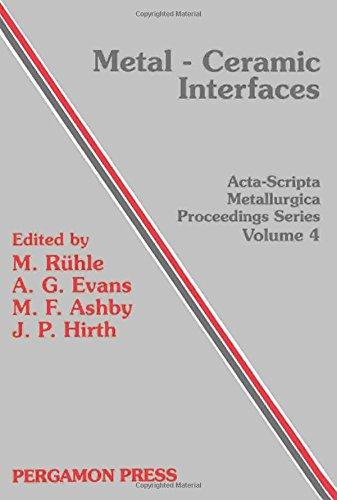 Santa Barbara Metal - Metal-Ceramic Interfaces: Proceedings of an International Workshop Santa Barbara California, USA 16-18 January 1989 (Acta-Scripta Metallurgica Proce)