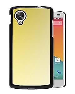 New Custom Designed Cover Case For Google Nexus 5 With F Yellow Ubmarine Hark Gradation Blur Wallpaper Phone Case