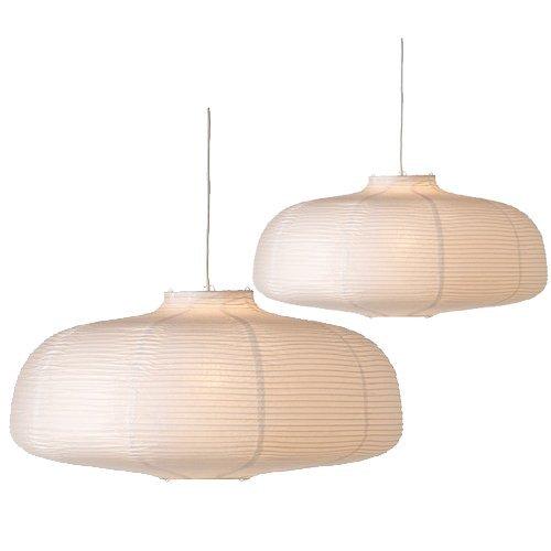 2 Ikea Vate Pendant Lamps Paper Pendant Lamp