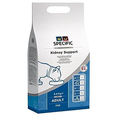 Soporte específico para gato FKD Kidney y corazón, 3 kg. Mejor ...
