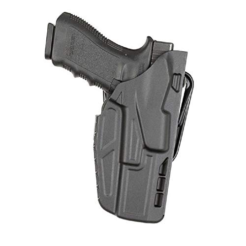 "Safariland 7377 7TS ALS Concealment Belt Slide Holster for Glock 19/23 with 4"" Barrel Right Hand Plain Black Finish"