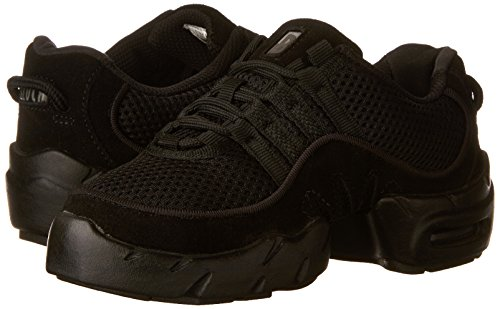 Bloch Women's Boost Mesh Dance Sneaker S0538L, Black, 9 X(Medium) US