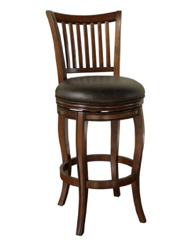 American Heritage Billiards Maxwell Bar Height Stool, Suede
