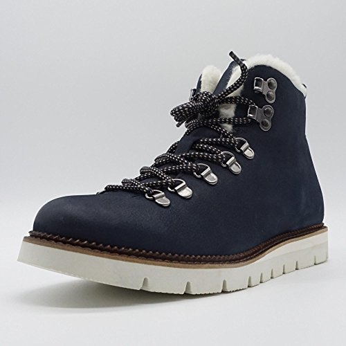Rangers Marc 00076 Boots Shoes Ocean Bleu Neva Bleu Femme PqqzREUSw