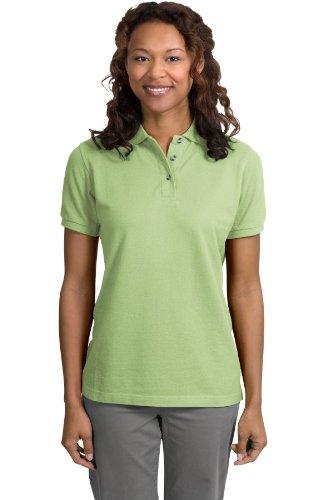 Port Authority Ladies Pique Knit Sport Shirt, 4XL, Pistachio