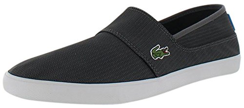 Lacoste Marice Men's Slip On Casual Shoes Canvas Sneakers Gray Size 10