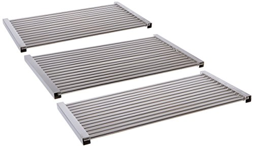 - Music City Metals 5S463 Stainless Steel Tubes Cooking Grid Set Replacement for Select Gas Grill Models by Kenmore, Master Forge and Others