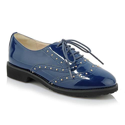 Azul 1to9 Cuña Sandalias Mujer Mms06448 Con x4vB1
